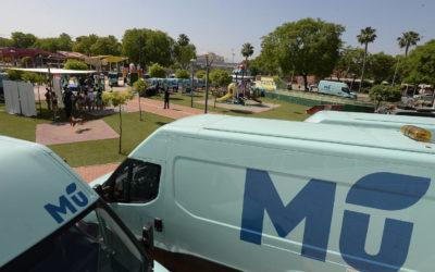 Surarte rotula la nueva flota de vehículos de limpieza de CESPA en Murcia